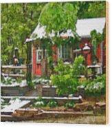 Pats Place Wood Print