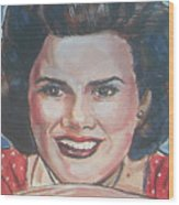 Patsy Cline Wood Print