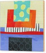 Pattern # 6 Wood Print