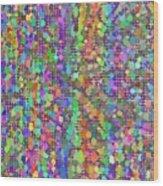 Pattern 103 Wood Print
