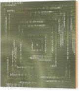Pattern 106 Wood Print