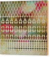 Pattern 181 Wood Print