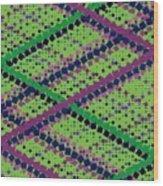 Pattern 54 Wood Print