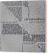 Pattern 55 Wood Print