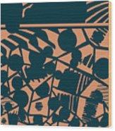 Pattern 59 Wood Print