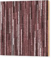 Pattern 92 Wood Print