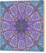 Pattern Art 006 Wood Print