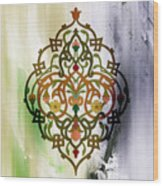 Pattern Art 007 Wood Print