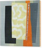Pattern Grid # 16 Wood Print
