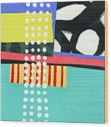 Pattern Grid #2 Wood Print