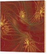 Pattern Of Elegance Wood Print