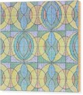 Pattern Of Serenity Wood Print