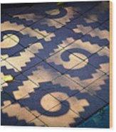 Patterns Azteca Wood Print