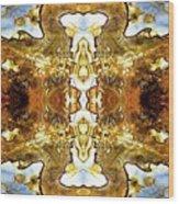 Patterns In Stone - 146b Wood Print