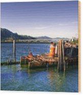 Patterson Bridge Oregon Wood Print