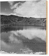 Pau-pique Lake Wood Print