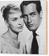 Paul Newman And Joanne Woodward In The Long Hot Summer 1958 Wood Print