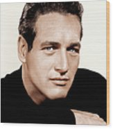 Paul Newman, Ca. 1963 Wood Print