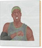 Paul Pierce  Wood Print