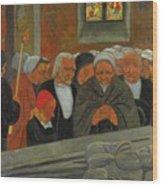 Paul Serusier 1864 - 1927 Devotion To S. Herbot Forgiveness Wood Print