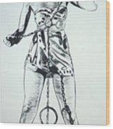 Paula Captive Wild Woman Wood Print