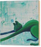Pause Wood Print