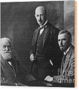 Pavlov, Anrep, Babkin Wood Print
