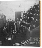 Pavlov In Lecture Theater, 1904 Wood Print