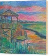 Pawleys Island Atmosphere Stage One Wood Print
