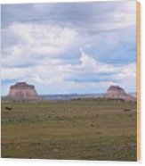 Pawnee Butte Colorado Wood Print