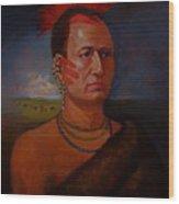 Pawnee Chief Around 1820 Wood Print