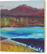 Payette River Idaho Wood Print