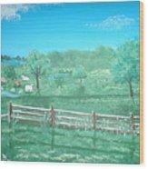 Paynter Farm Wood Print