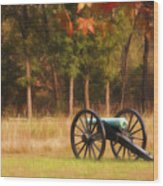 Pea Ridge Wood Print by Lana Trussell