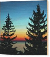 Peace And Quiet 2 Wood Print
