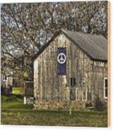 Peace Barn Wood Print