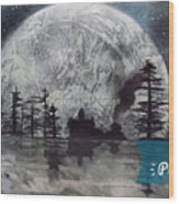 Peace In The Dark Wood Print