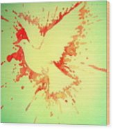 Peace Made By War Wood Print