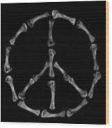 Peace Sign Wood Print