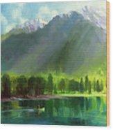Peace Wood Print