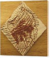 Peaceful - Tile Wood Print