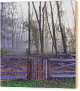 Peaceful Awakening Wood Print