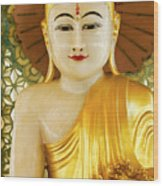 Peaceful Buddha Wood Print