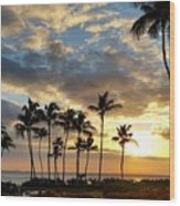 Peaceful Dreams Hawaii Wood Print