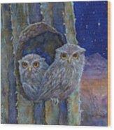 Peaceful Night Wood Print