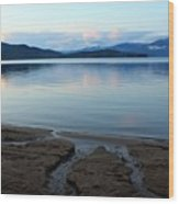 Peaceful Priest Lake Wood Print
