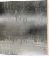 Peaceful Reflection Wood Print
