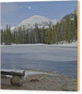 Peaceful Rocky Mountain National Park Wood Print