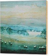 Peaceful Valley Wood Print