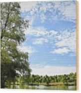 Peaceful View - Bradfield Park 18-37 Wood Print